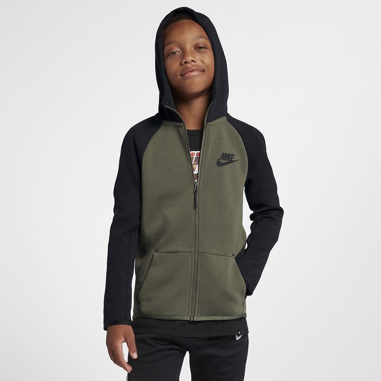 Nike Sportswear Tech Fleece Older Kids  Full-Zip Jacket. Nike.com LU 25db4d0d3f