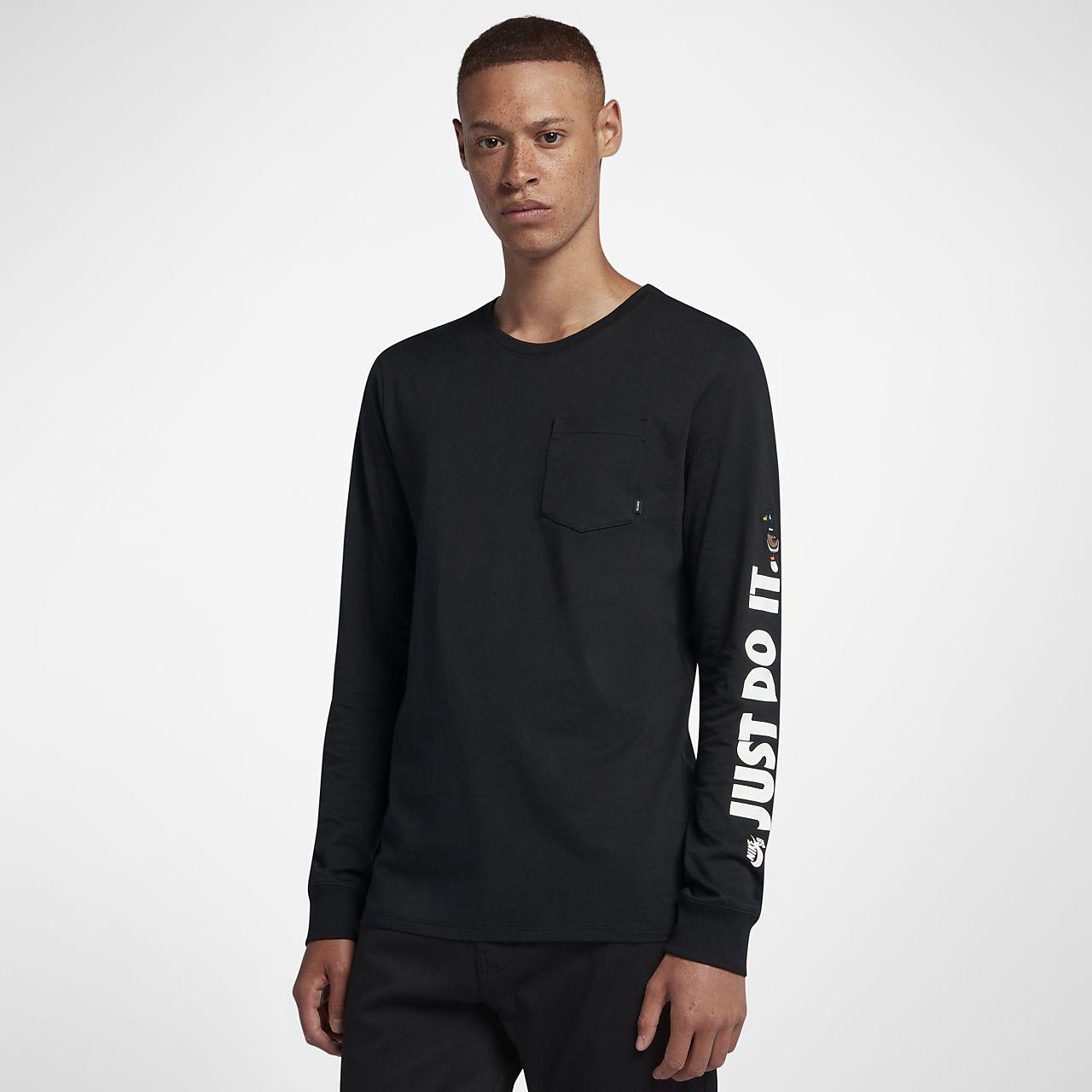 7ae99b7af9 Nike SB Men s Long-Sleeve Skateboarding T-Shirt. Nike.com