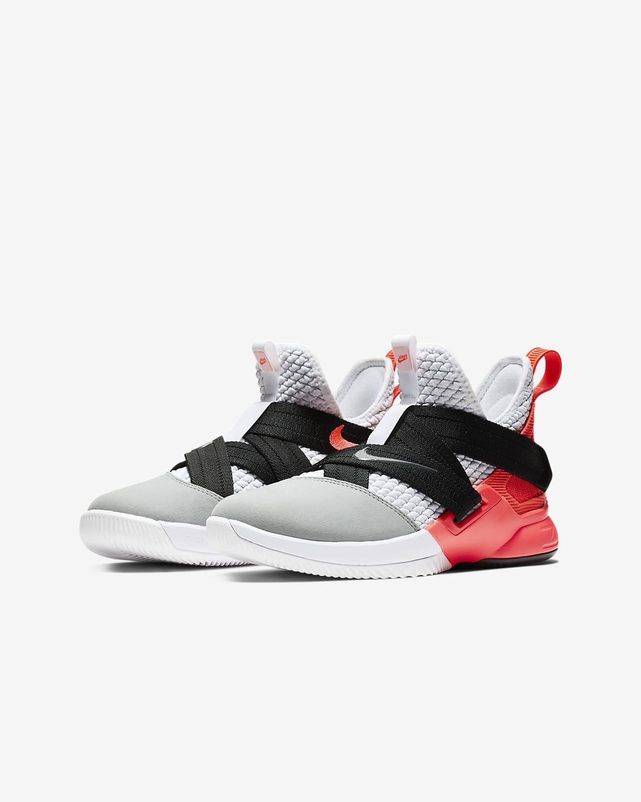 bfa60e4825f LeBron Soldier 12 SFG Big Kids  Basketball Shoe. Nike.com