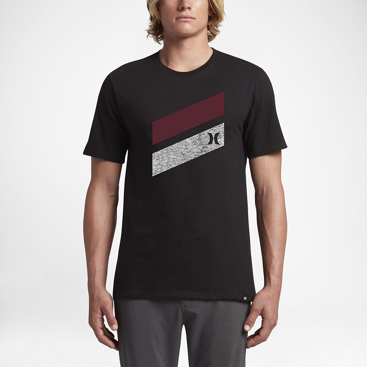Hurley Icon Slash Push Through  TShirt