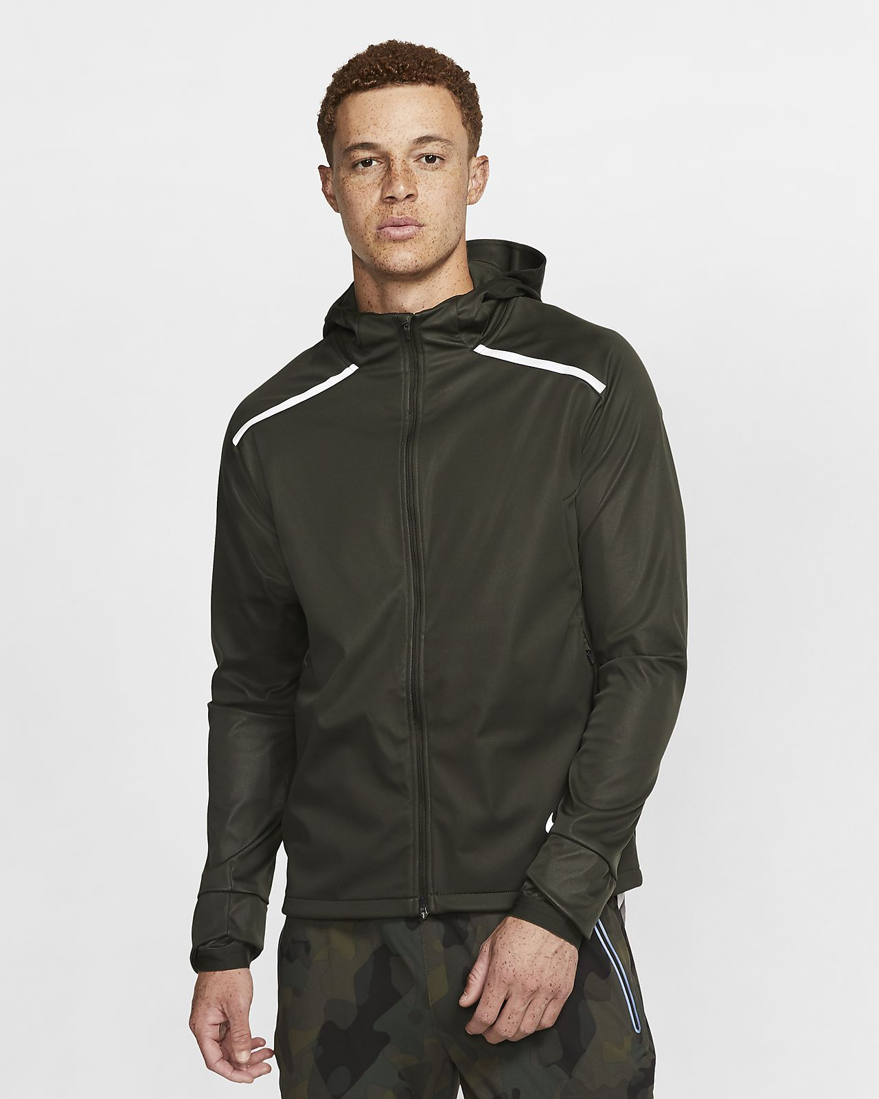 Nike Shield Men's Hooded Running Jacket