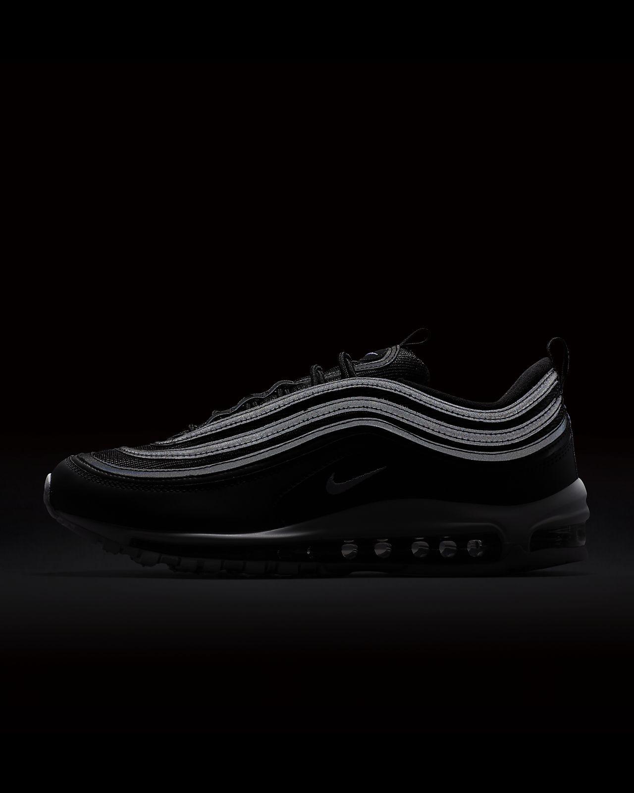 Nike Air Max 97 Shoes Men/'s Casual Sport Sneaker Black White 921826-001