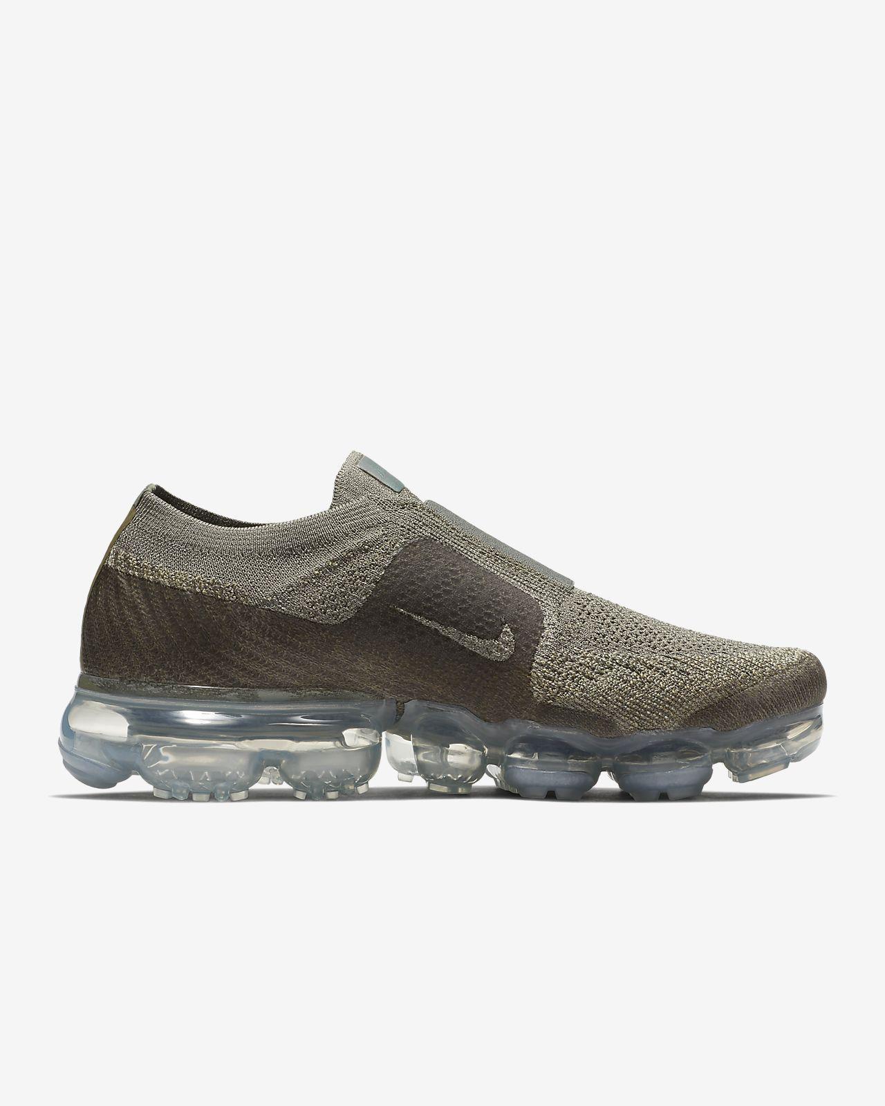 Air Vapormax Moc 2 Flyknit Slip-on Chaussures De Sport - Vert Nike UlIZ338t