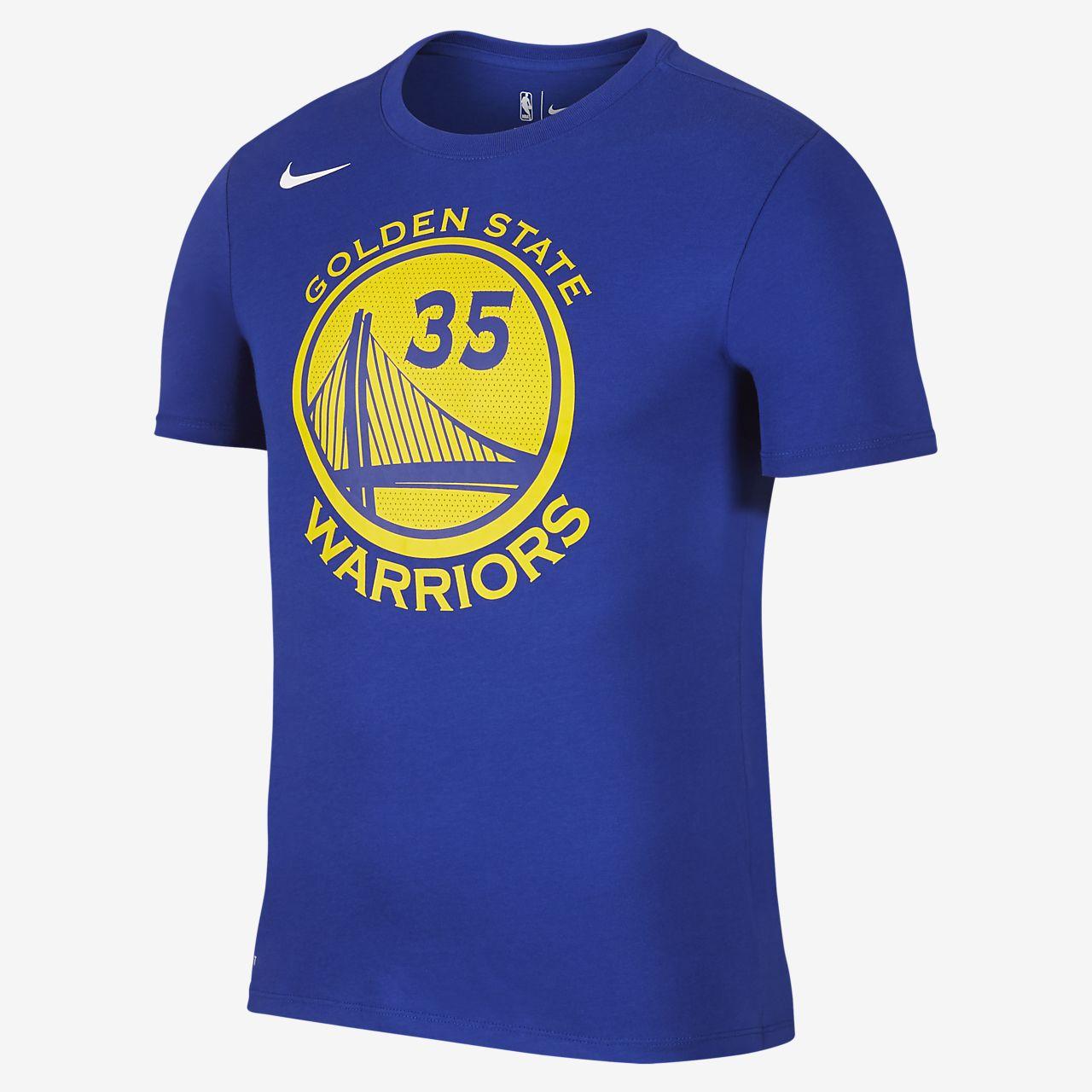 NBA-t-shirt Kevin Durant Golden State Warriors Nike Dri-FIT för män