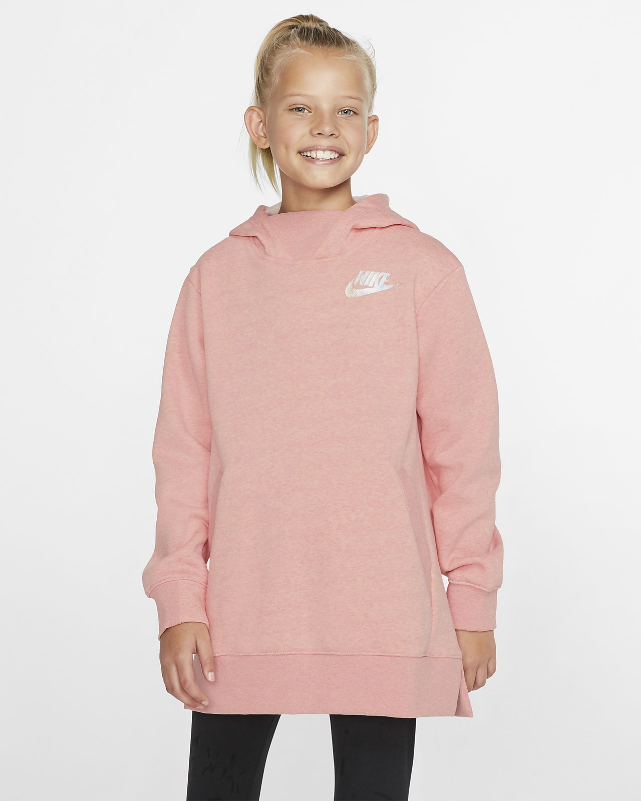 Nike Sportswear Older Kids' (Girls') Fleece Top