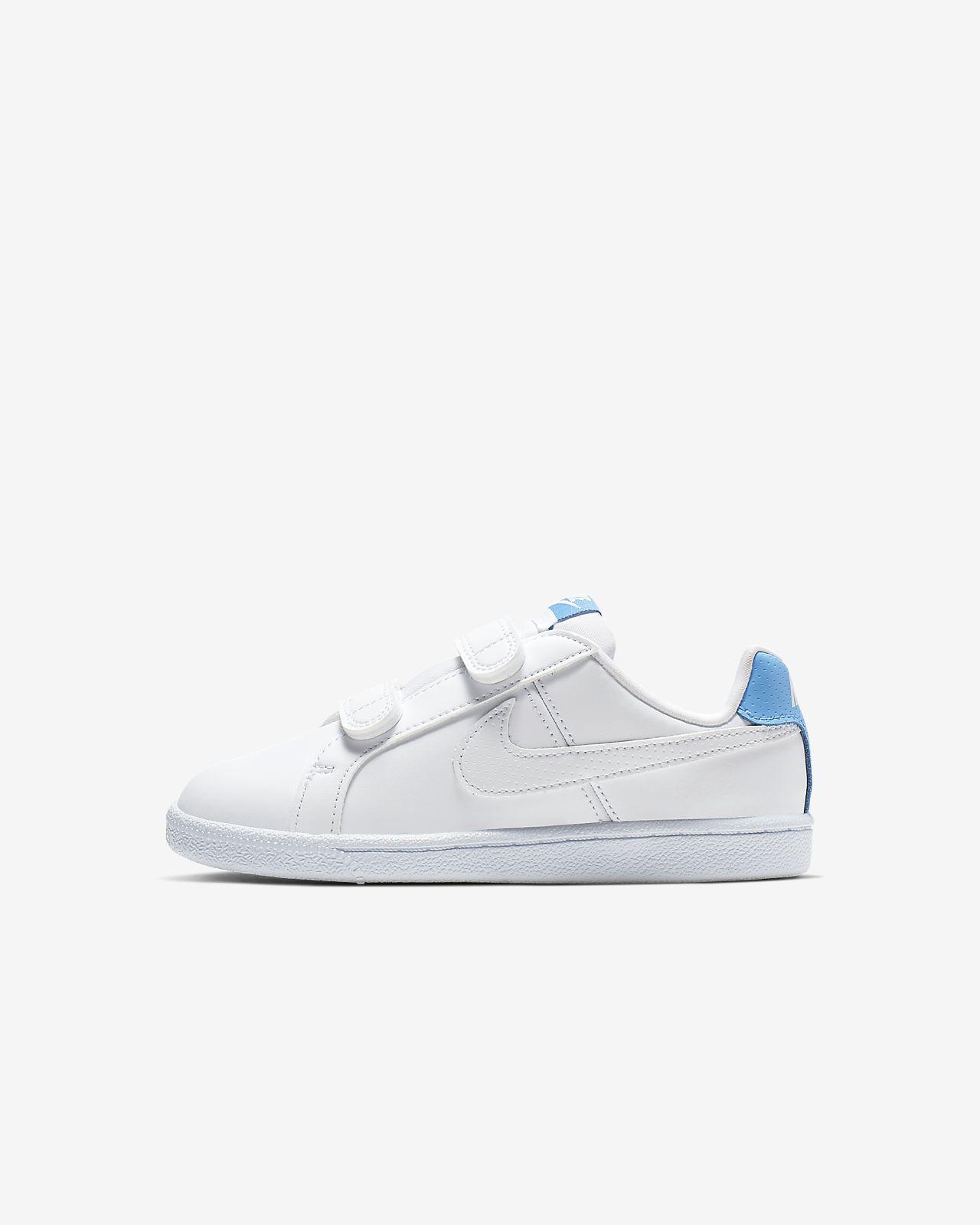 7584ebb9b54fd Calzado para niños talla pequeña NikeCourt Royale. Nike.com CL