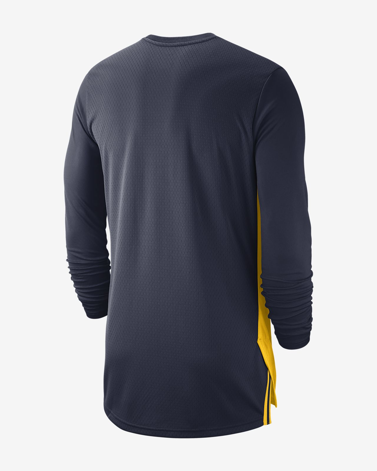 30ba4172802b78 Jordan College Dri-FIT (Michigan) Men s Long-Sleeve Basketball Top ...