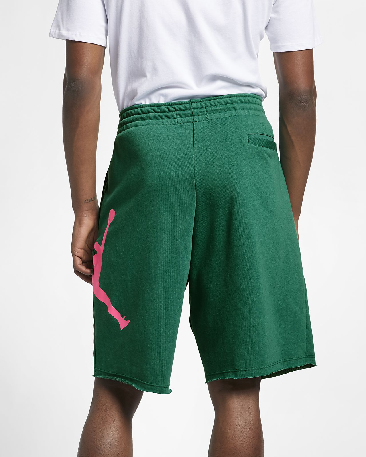 19a703ece9f2 Jordan Jumpman Logo Men s Fleece Shorts. Nike.com AT