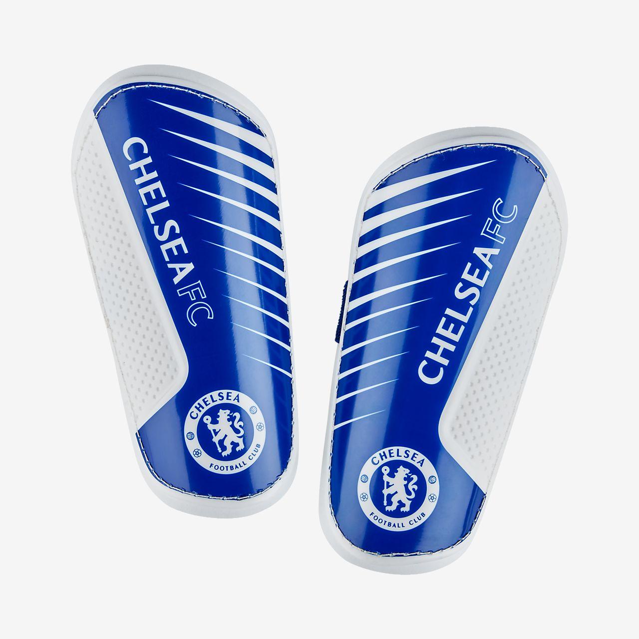 ... Chelsea FC Spike Fußball-Schienbeinschoner für jüngere Kinder