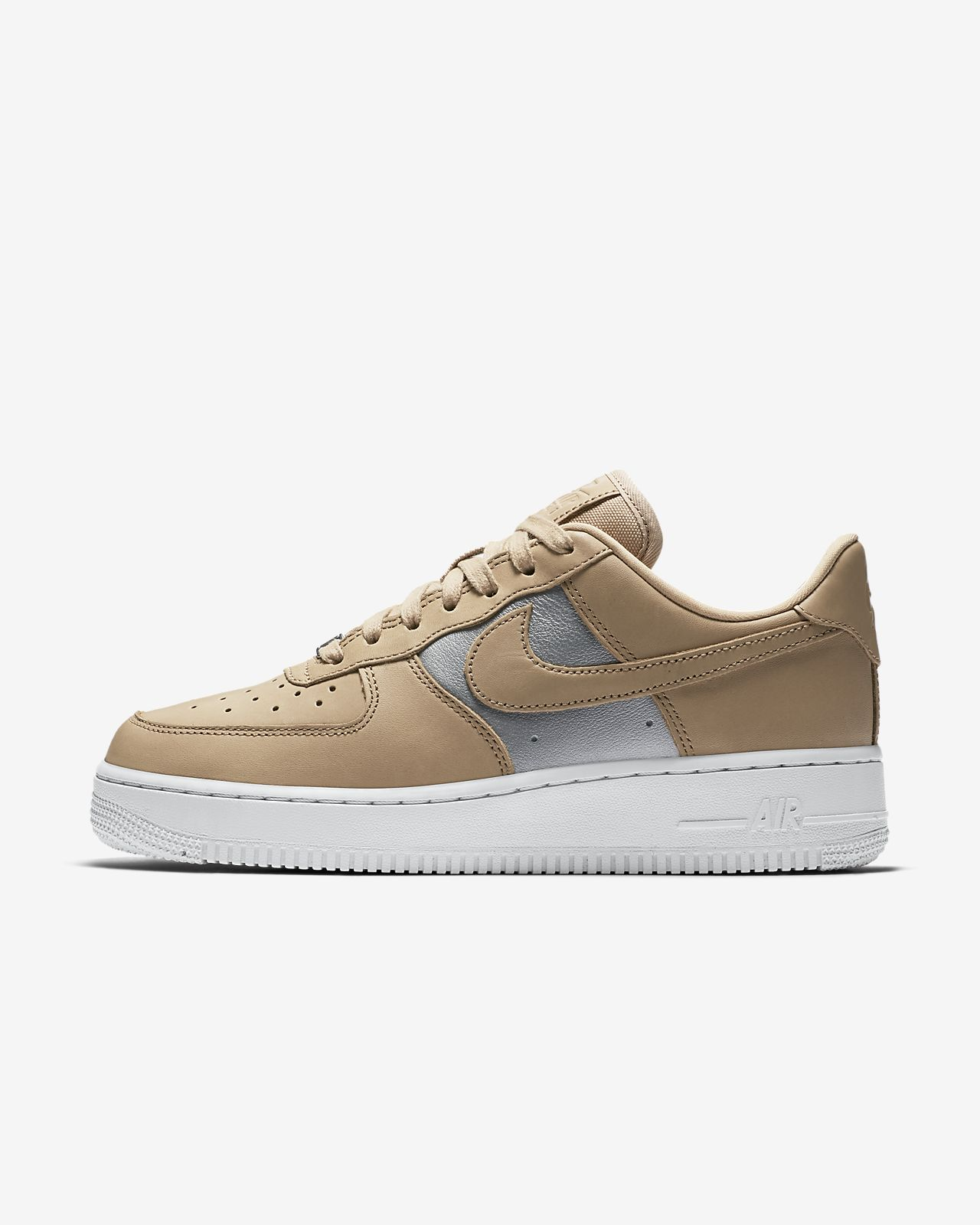 Nike Air Force 1 '07 SE Premium Wmns Bio Beige/ Metallic Silver