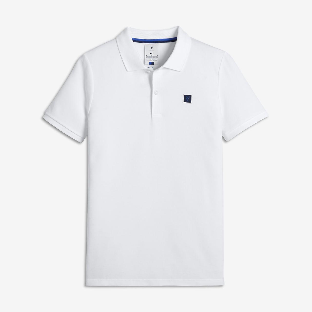 Rf Boys Tennis Polo Nike Com Hu