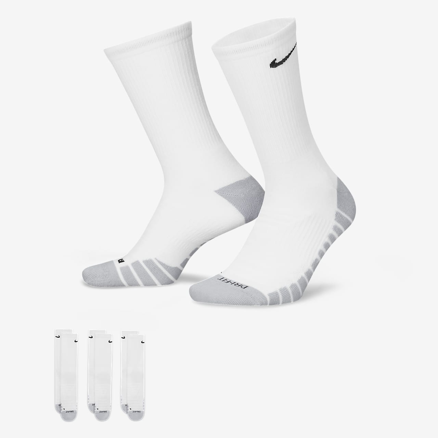 Chaussettes de training Nike Dry Cushion Crew (3 paires)