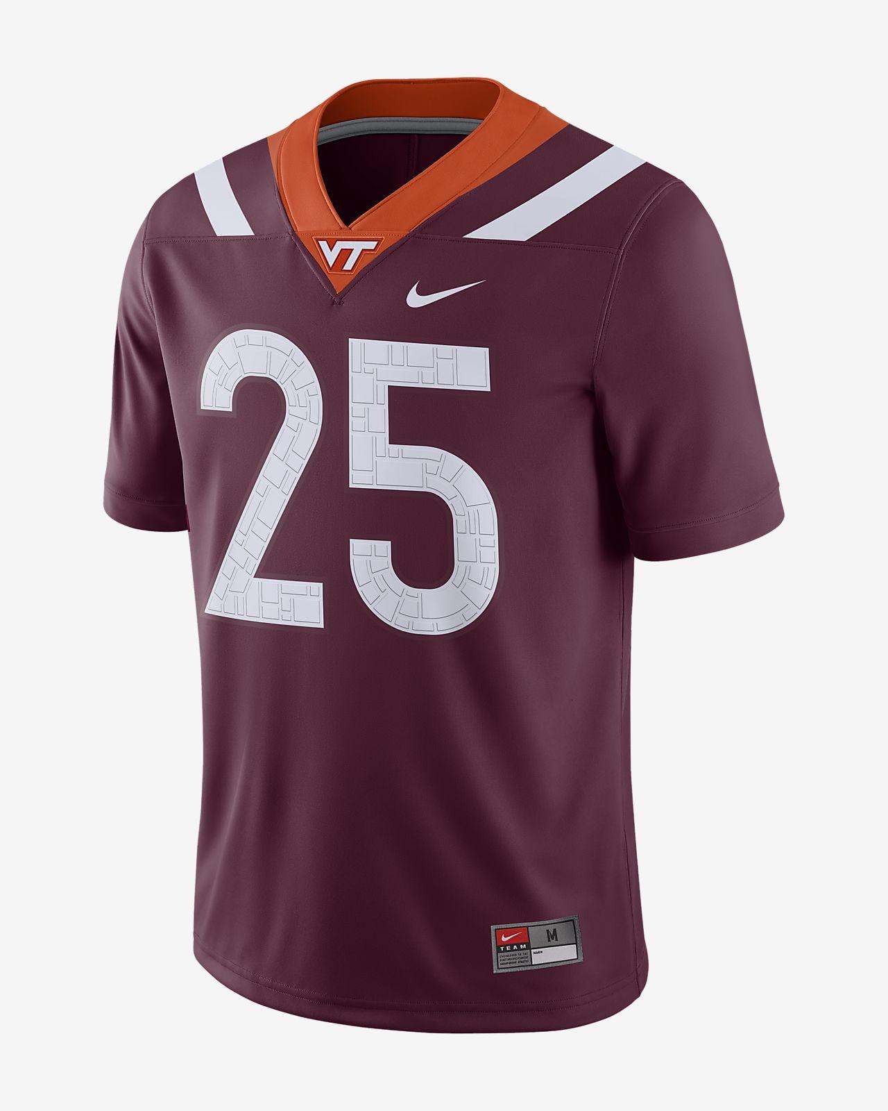 Nike College Dri-FIT Game (Virginia Tech) Men's Football Jersey