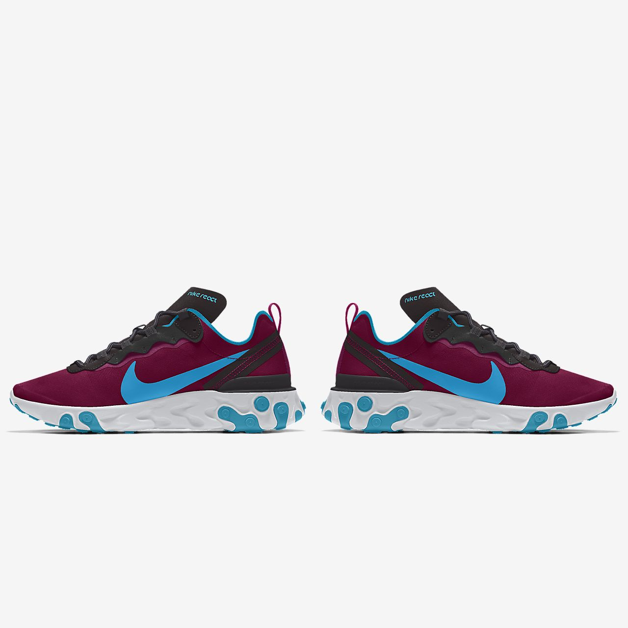 Nike React Element 55 By You personalisierbarer Damen Freizeitschuh