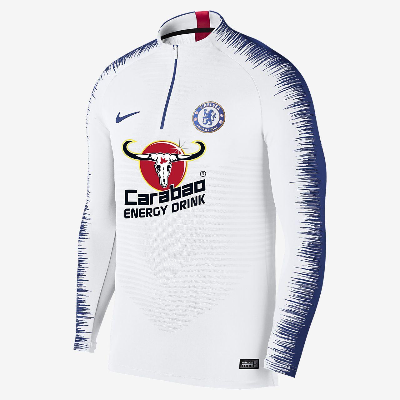 online store 76318 083a0 ... Chelsea FC VaporKnit Strike Drill Voetbaltop met lange mouwen voor heren