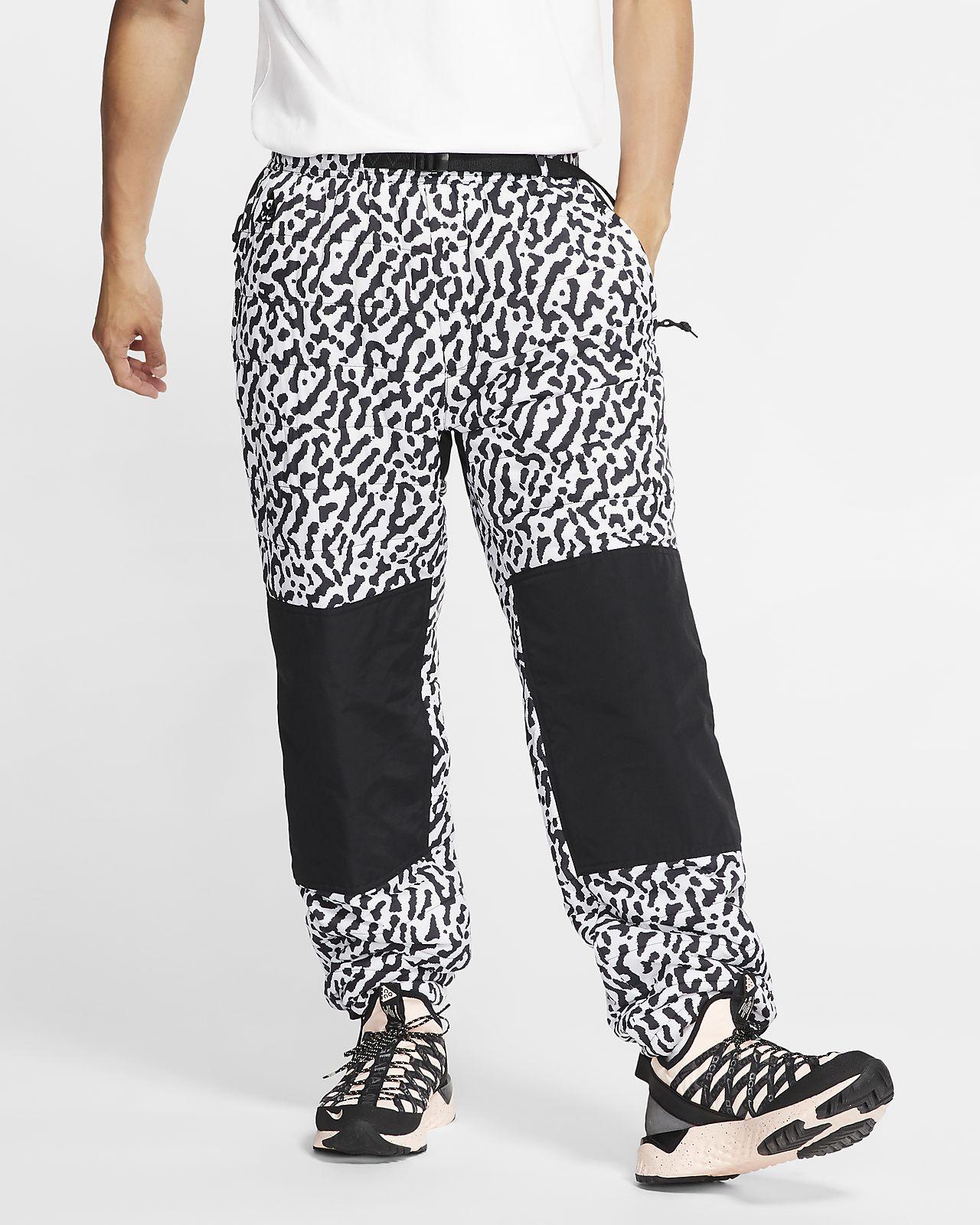 Ανδρικό παντελόνι πεζοπορίας με σχέδιο σε όλη την επιφάνεια Nike ACG PrimaLoft®
