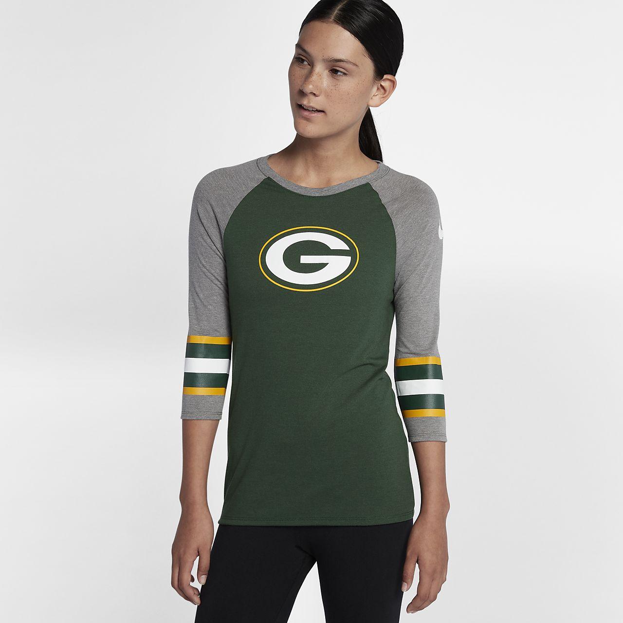 Nike Tri-Blend Raglan (NFL Packers)