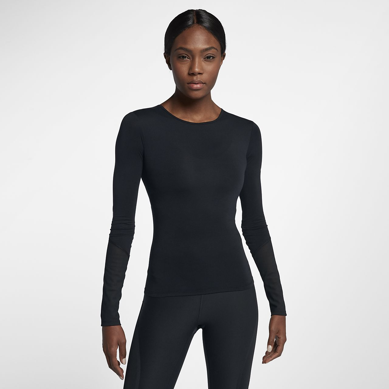 ... Nike Dri-FIT Women's Long Sleeve Training Top
