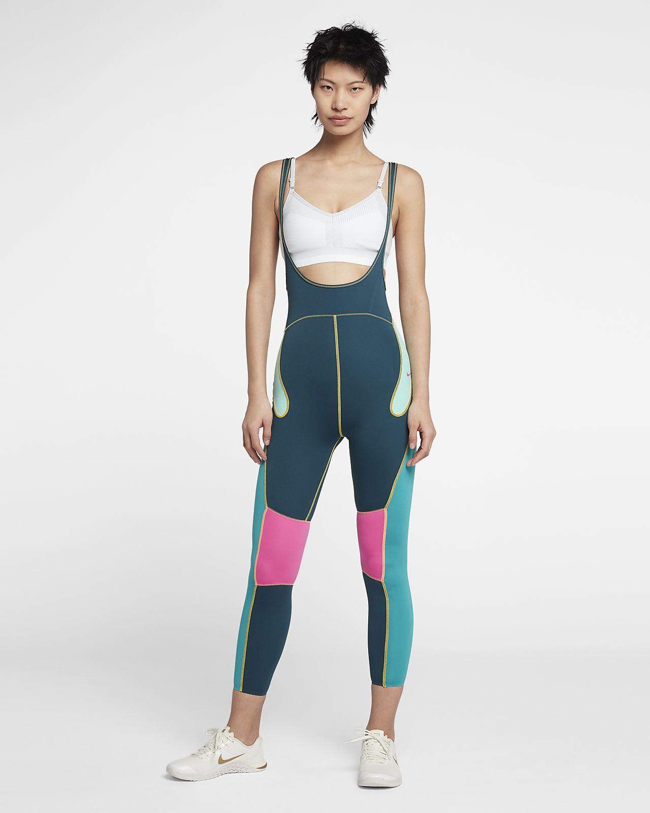 กางเกงรัดรูปเทรนนิ่งผู้หญิง Nike