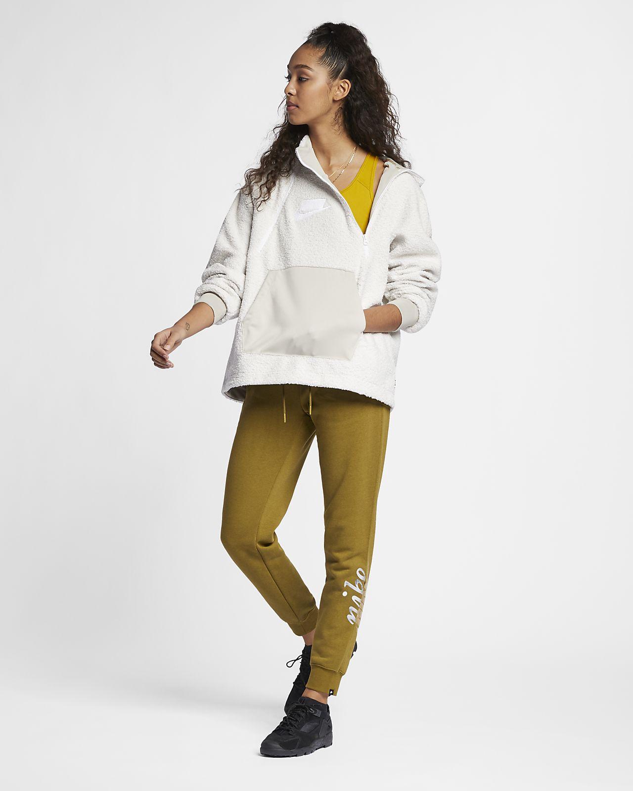 Damen Sportswear Nike NSW für Sherpa Hoodie eWEDH9IY2