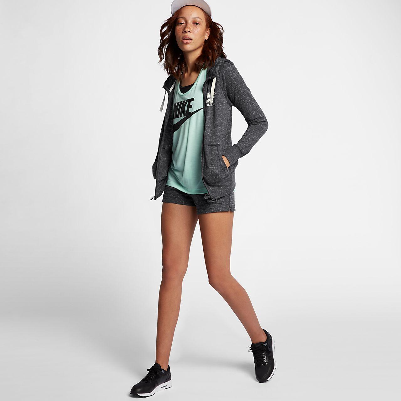 separation shoes 10d61 c3ec7 ... Huvtröja med hel dragkedja Nike Sportswear Gym Vintage för kvinnor