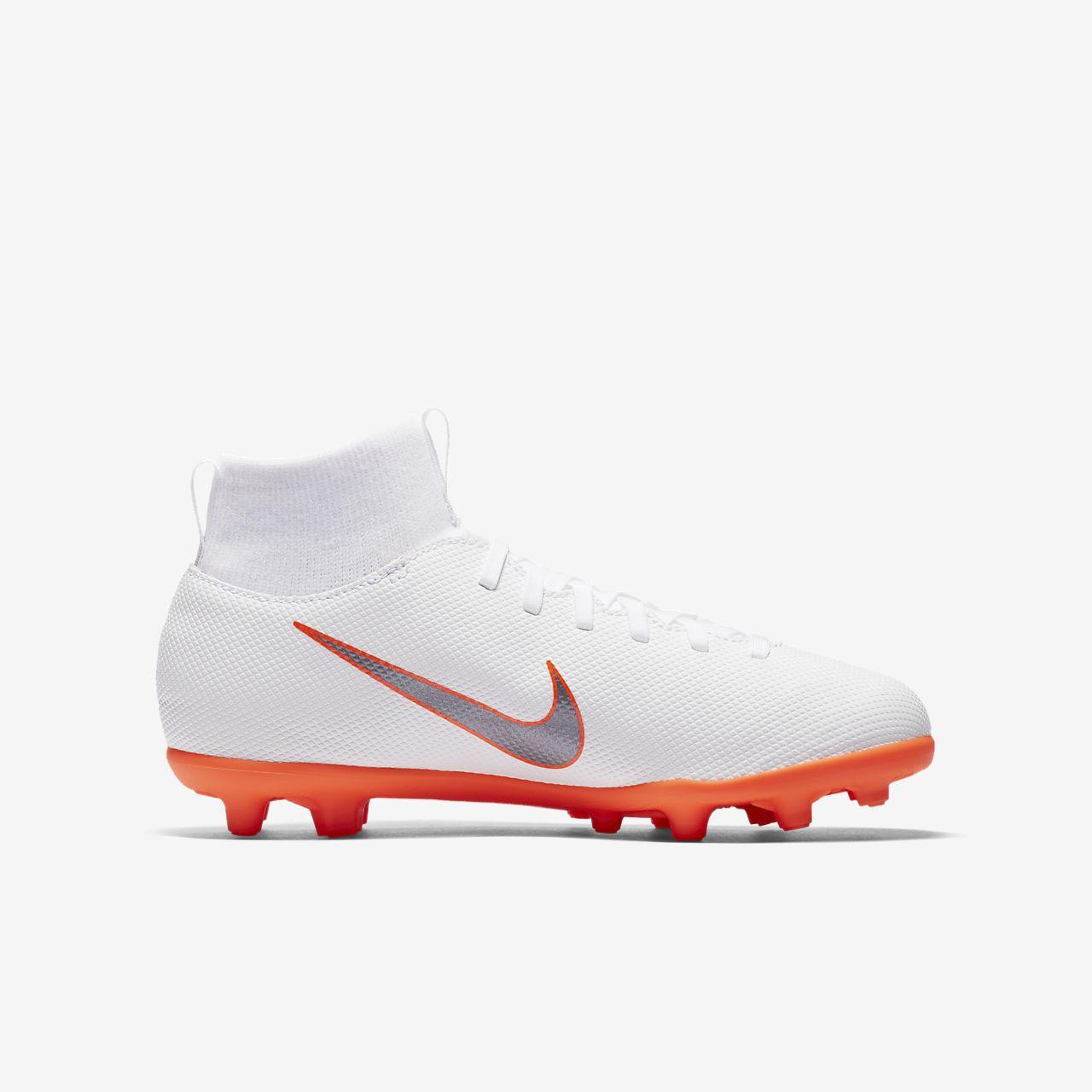 ... Chaussure de football multi-terrains à crampons Nike Jr. Mercurial  Superfly VI Club MG