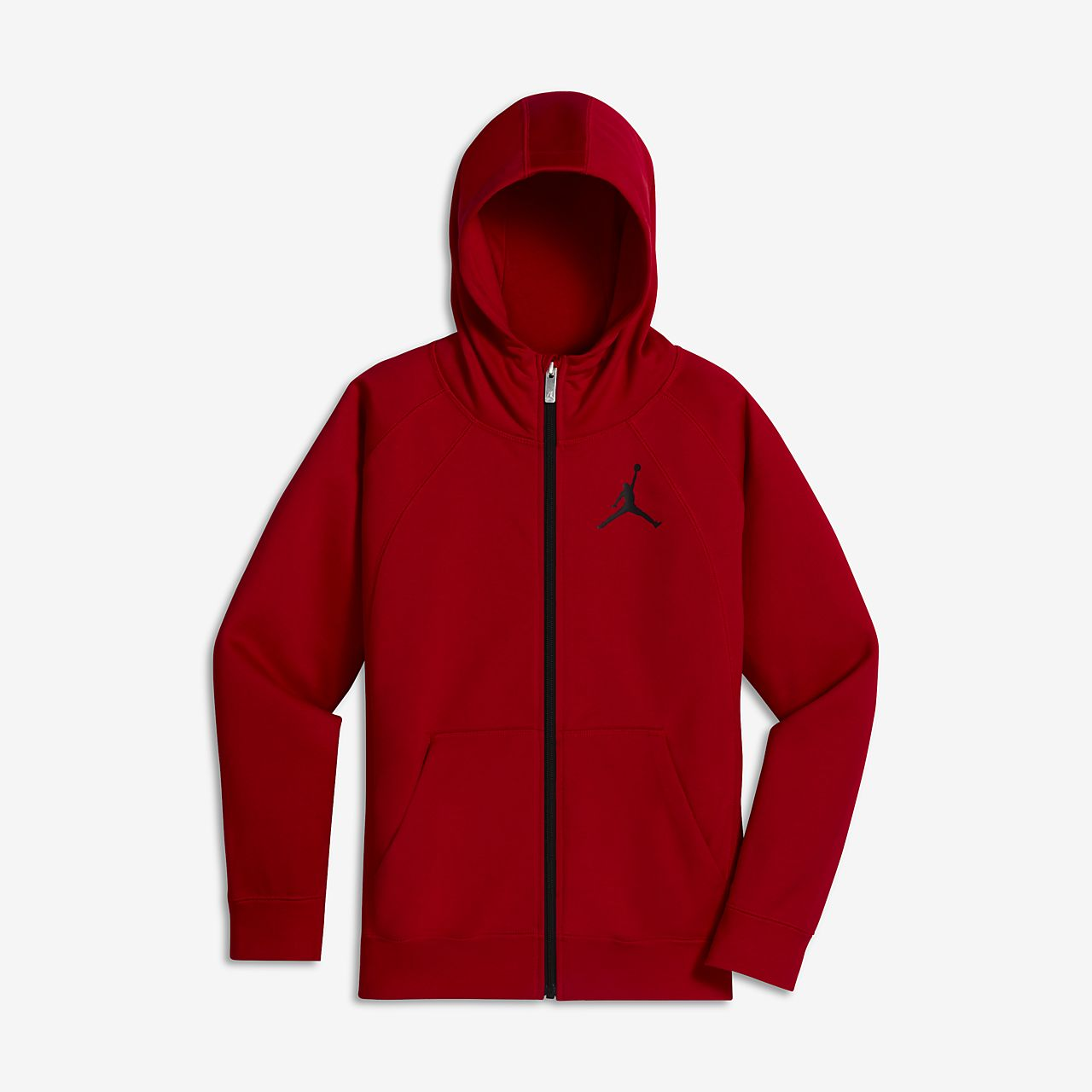 5277b3d4645cff Jordan Sportswear Wings Big Kids  (Boys ) Full-Zip Hoodie. Nike.com