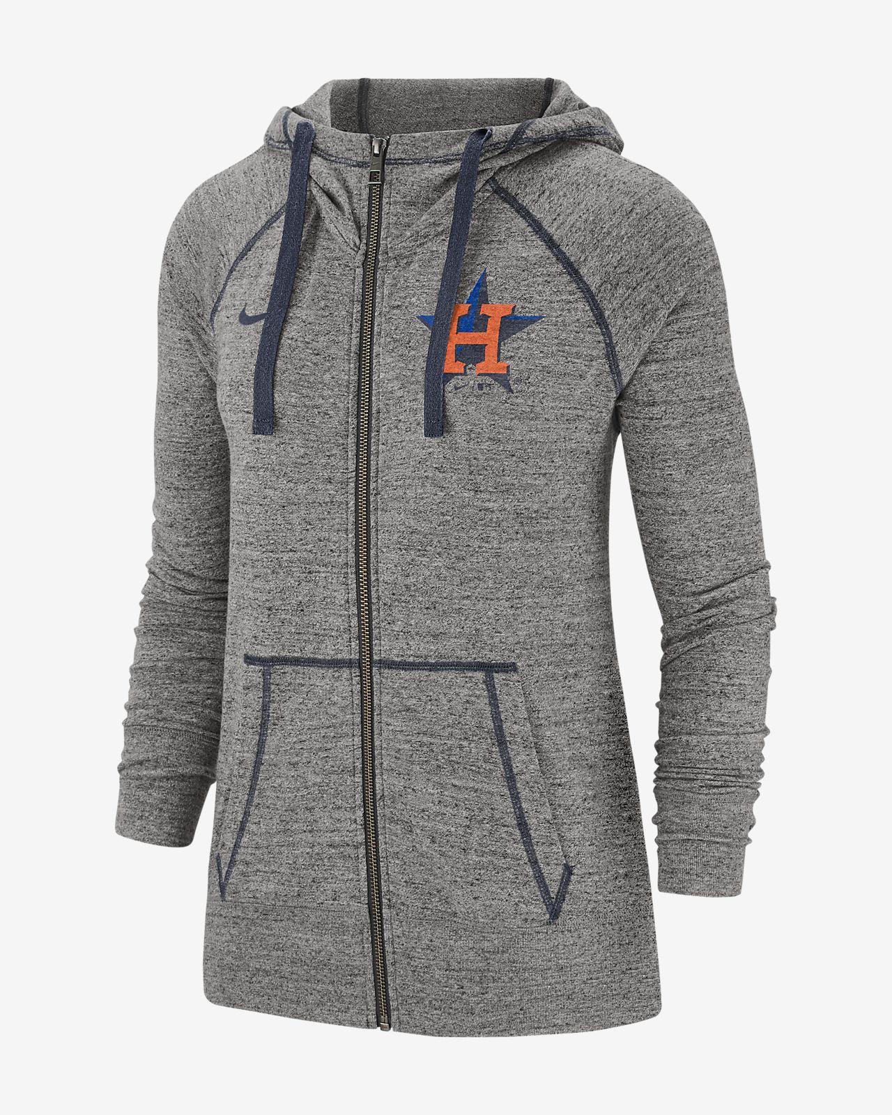 Nike Gym Vintage (MLB Astros) Women's Full-Zip Hoodie