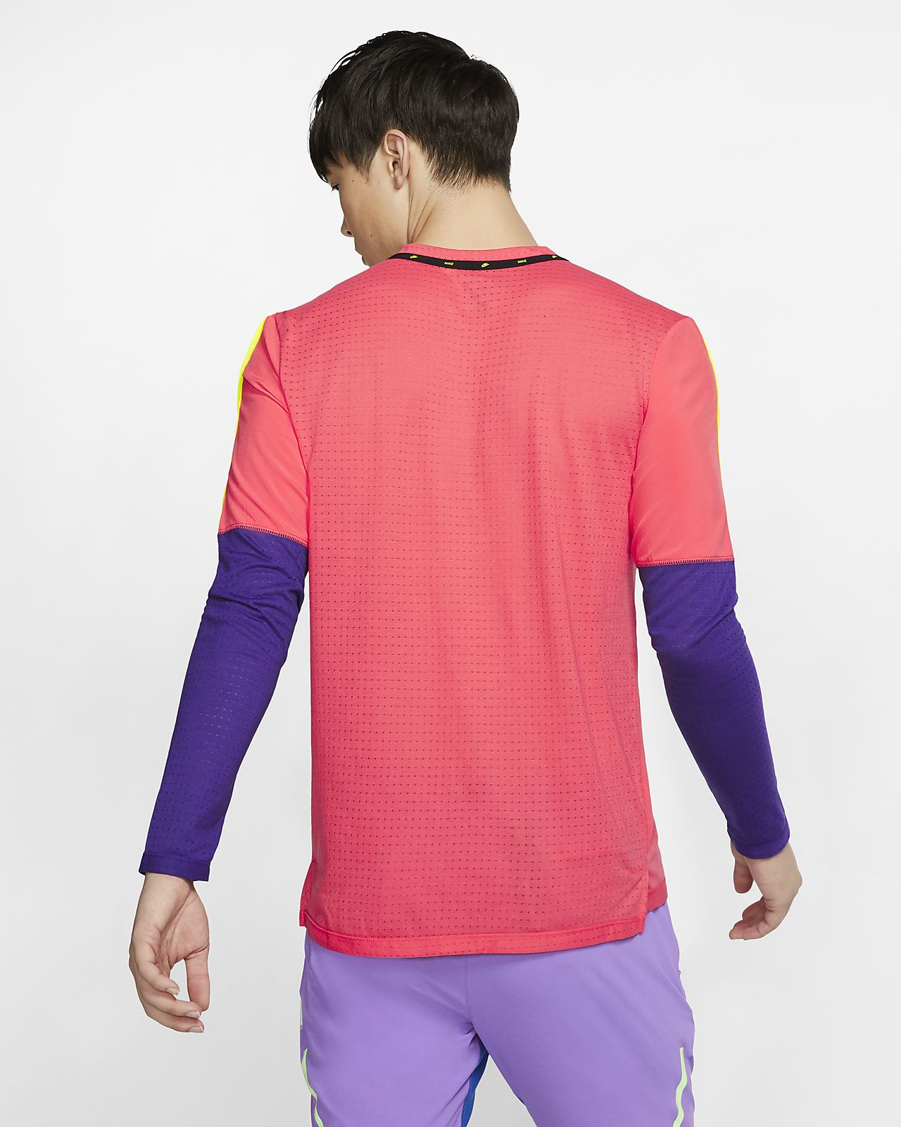 Maglia da running a manica lunga Nike Uomo