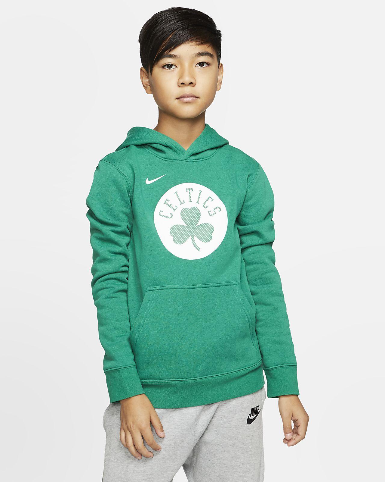 波士顿凯尔特人队 Logo Nike NBA 幼童套头连帽衫