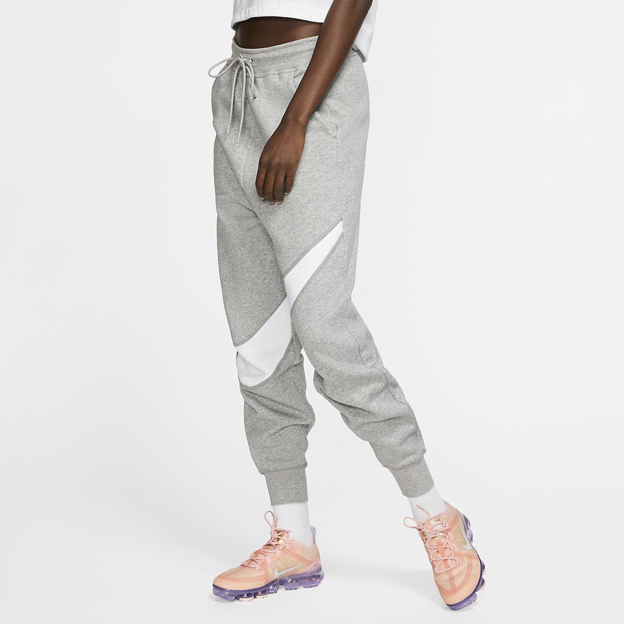 Nike Sportswear Swoosh Damen Fleecehose