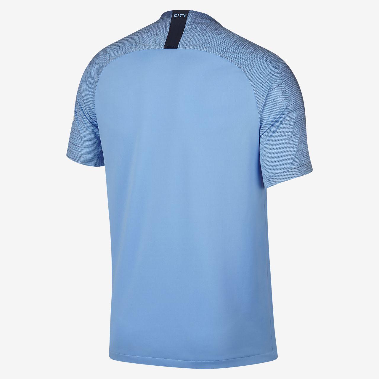 finest selection e4300 3c53e 2018/19 Manchester City FC Stadium Home Men's Football Shirt