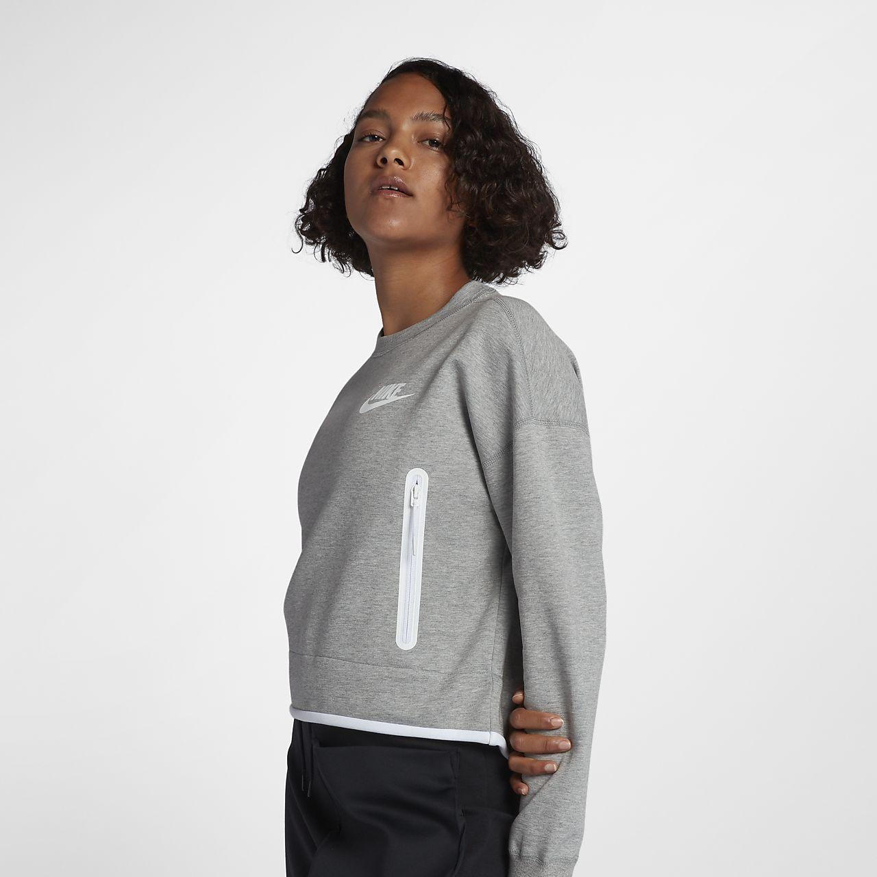 Γυναικεία μπλούζα Nike Sportswear Tech Fleece. Nike.com GR 833629bf662