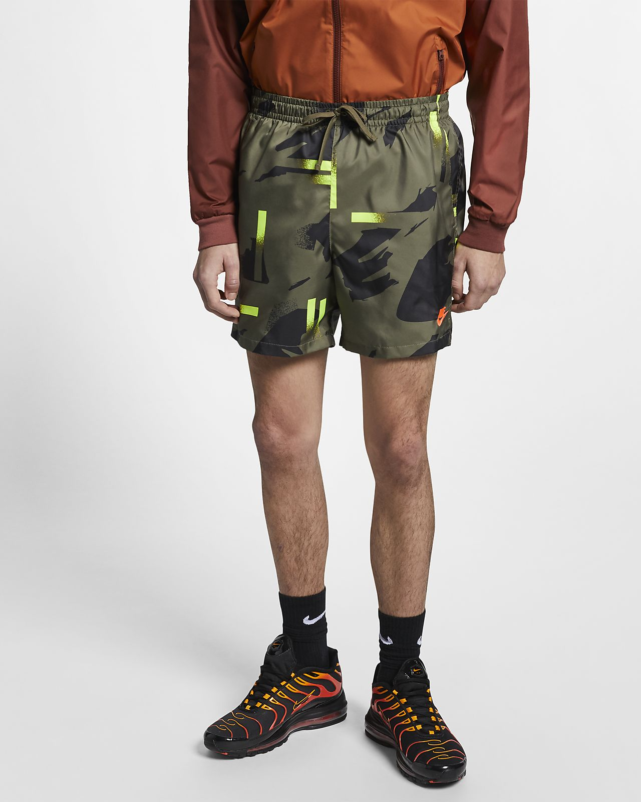 Nike Sportswear Pantalón corto de tejido Woven
