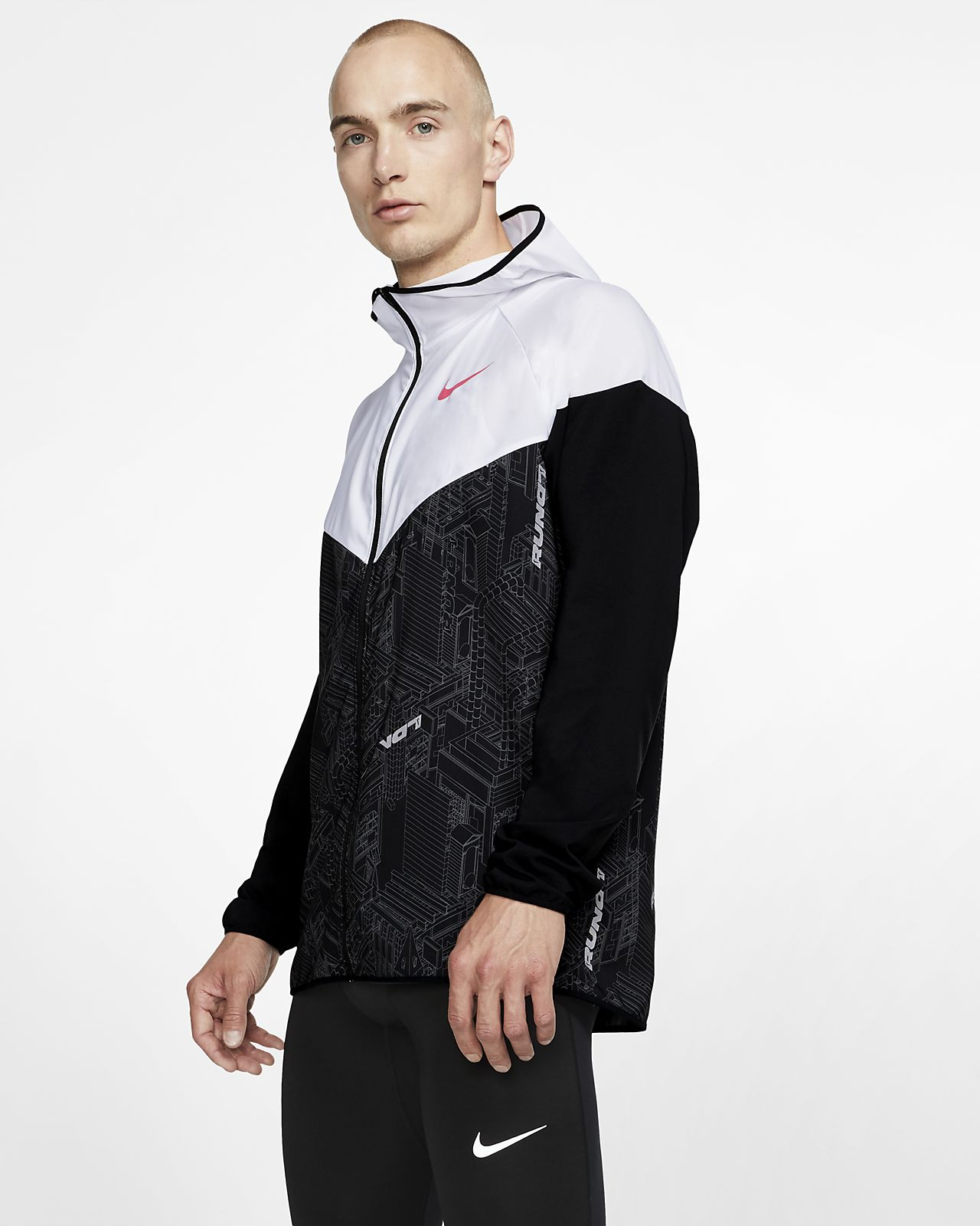 Veste de running Nike Windrunner (London) mixte