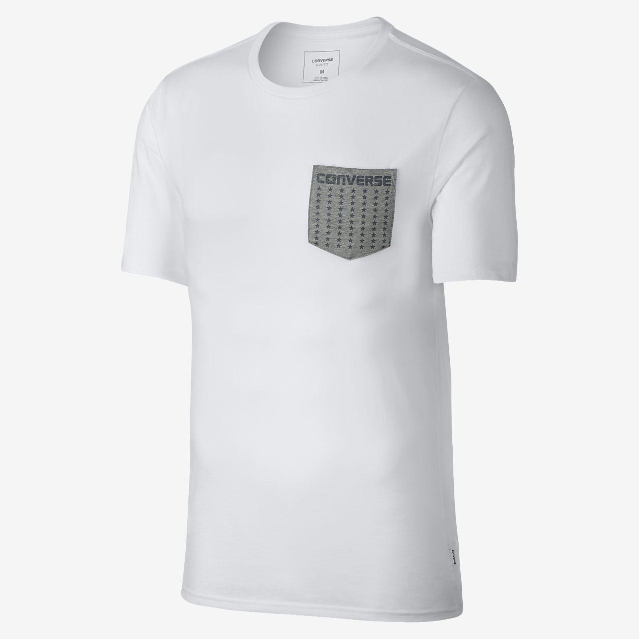 Converse Star Print Pocket Men's T-Shirt . Nike.com