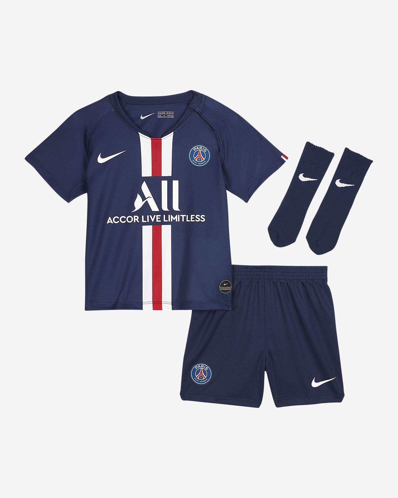 Paris Saint-Germain 2019/20 Home Baby and Toddler Kit