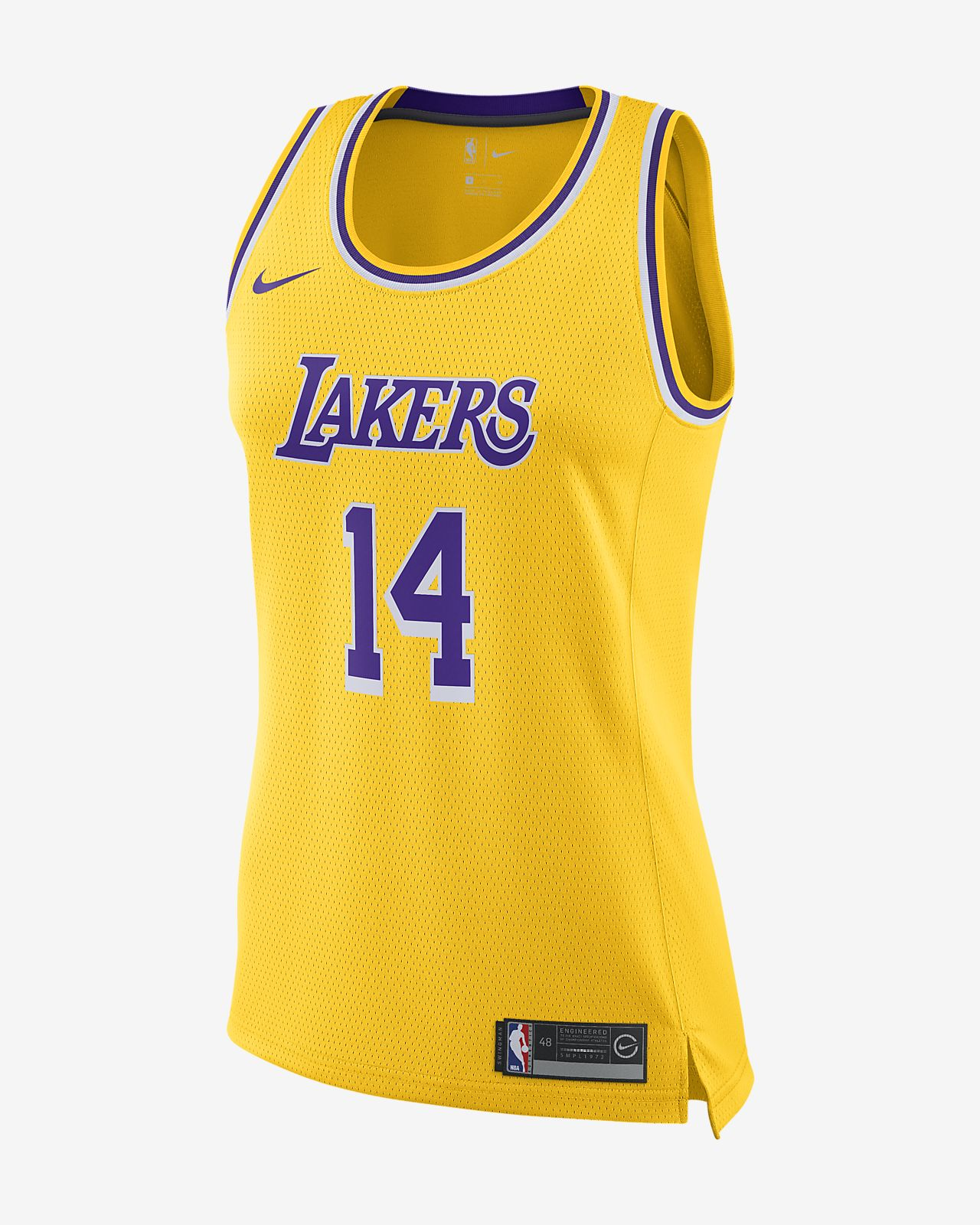 Women s Nike NBA Connected Jersey. Brandon Ingram Icon Edition Swingman (Los  Angeles Lakers) 841829e40