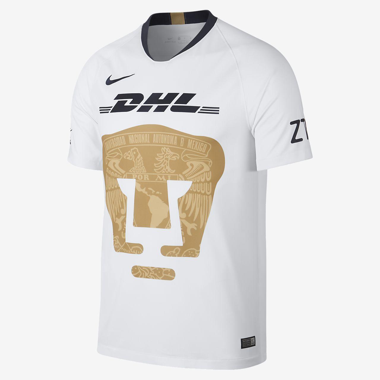 9f1fc6d90b Camisola de futebol 2018 19 Pumas UNAM Stadium Home para homem. Nike ...