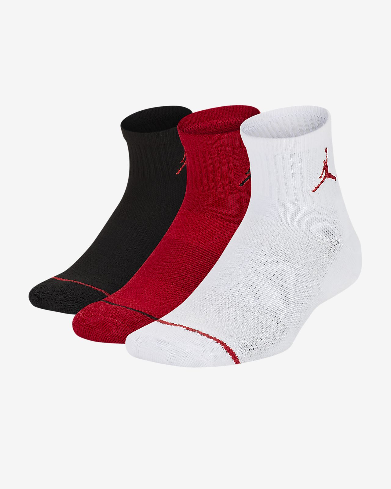 Jordan Jumpman Older Kids' Ankle Socks (3 Pairs)