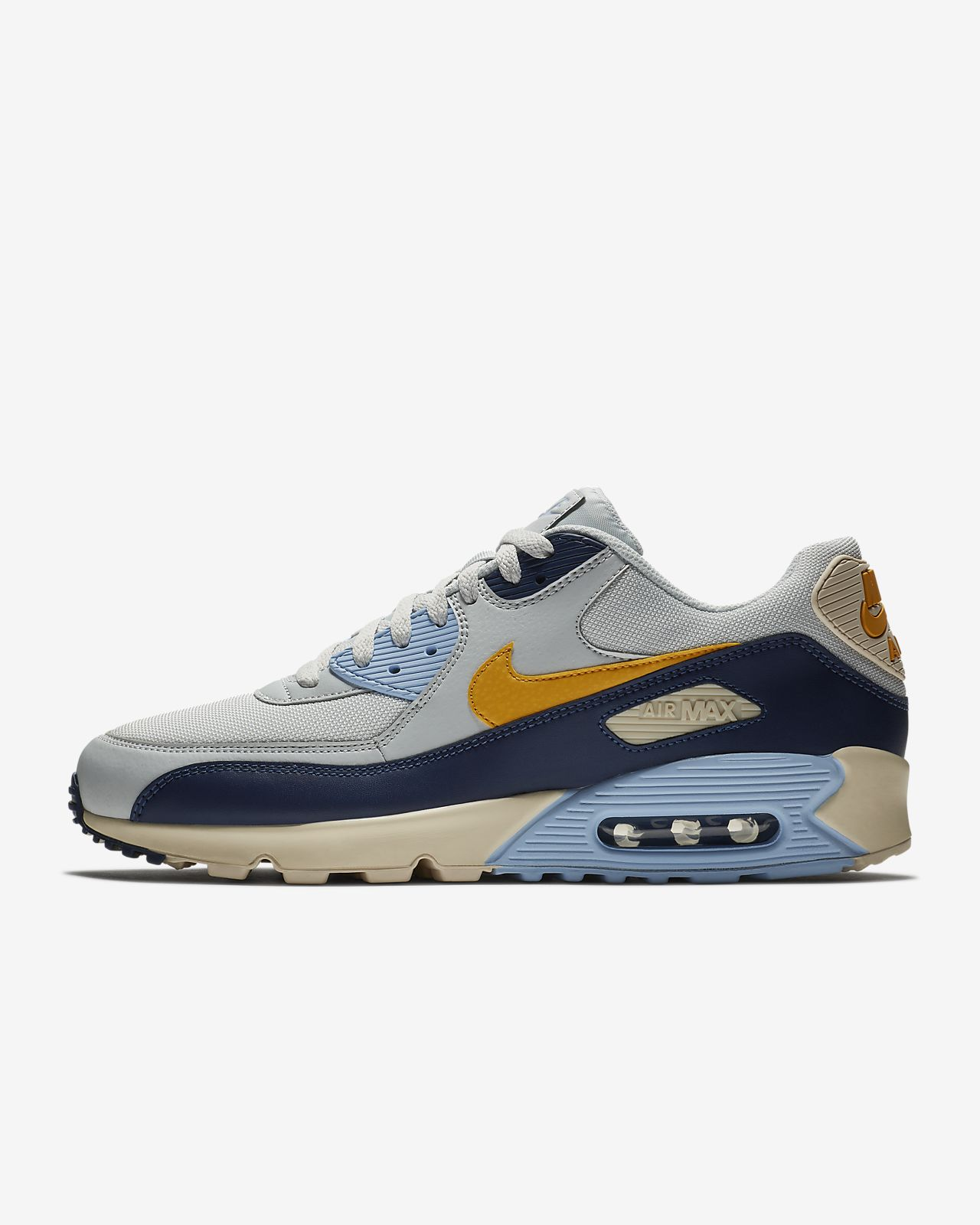 quality design 167a4 93b8f australia orange blue mens nike air max 90 essential shoes 88962 220ee