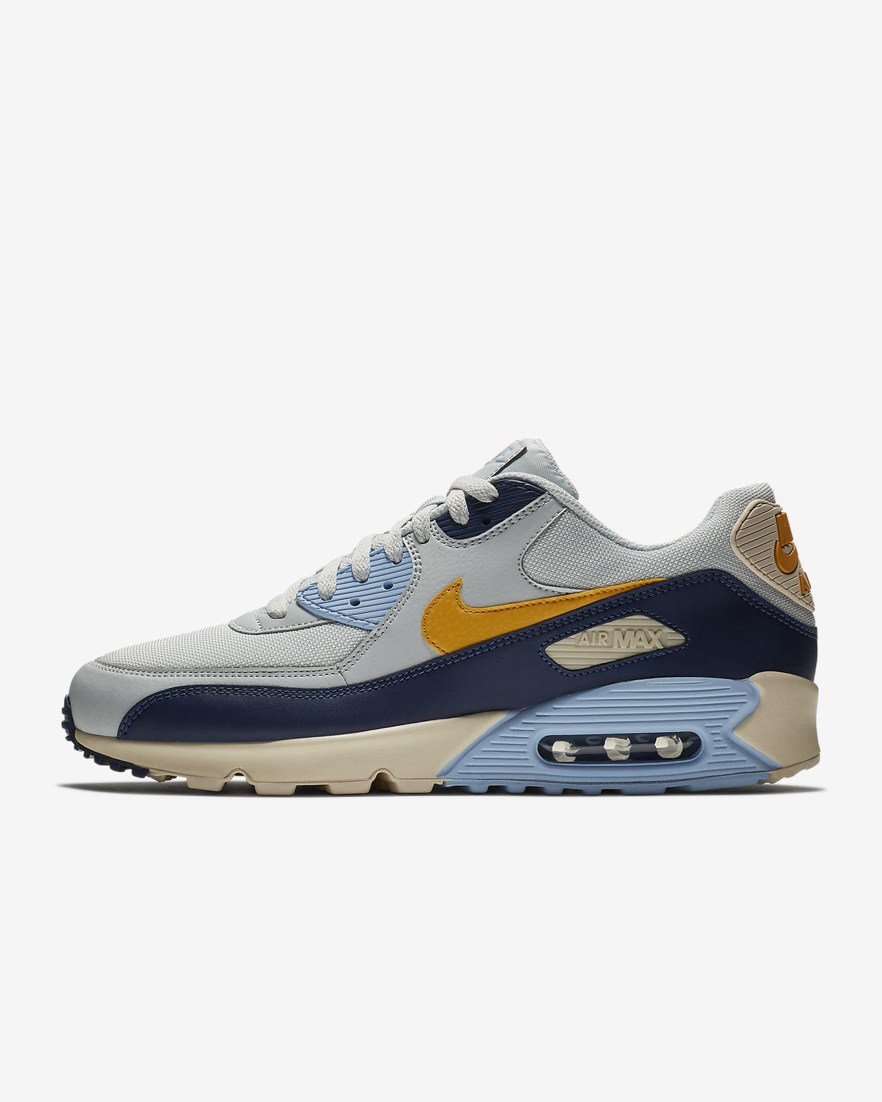 detailed look 2f280 2ba73 ... blue graphite wolf grey 51482 eab0c ca881  australia nike air max 90  essential mens shoe 450b6 0adc0