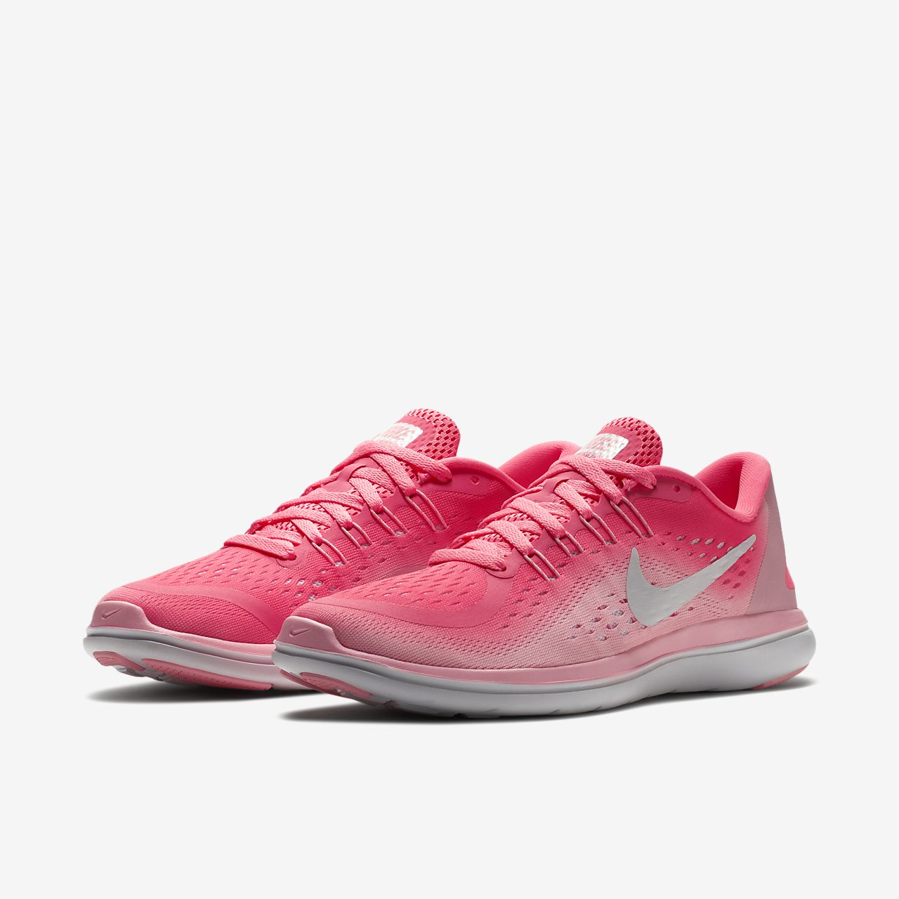 Nike WMNS Flex 2017 RN [898476-601] Women Running Shoes Sunset Pulse/Hot Punch