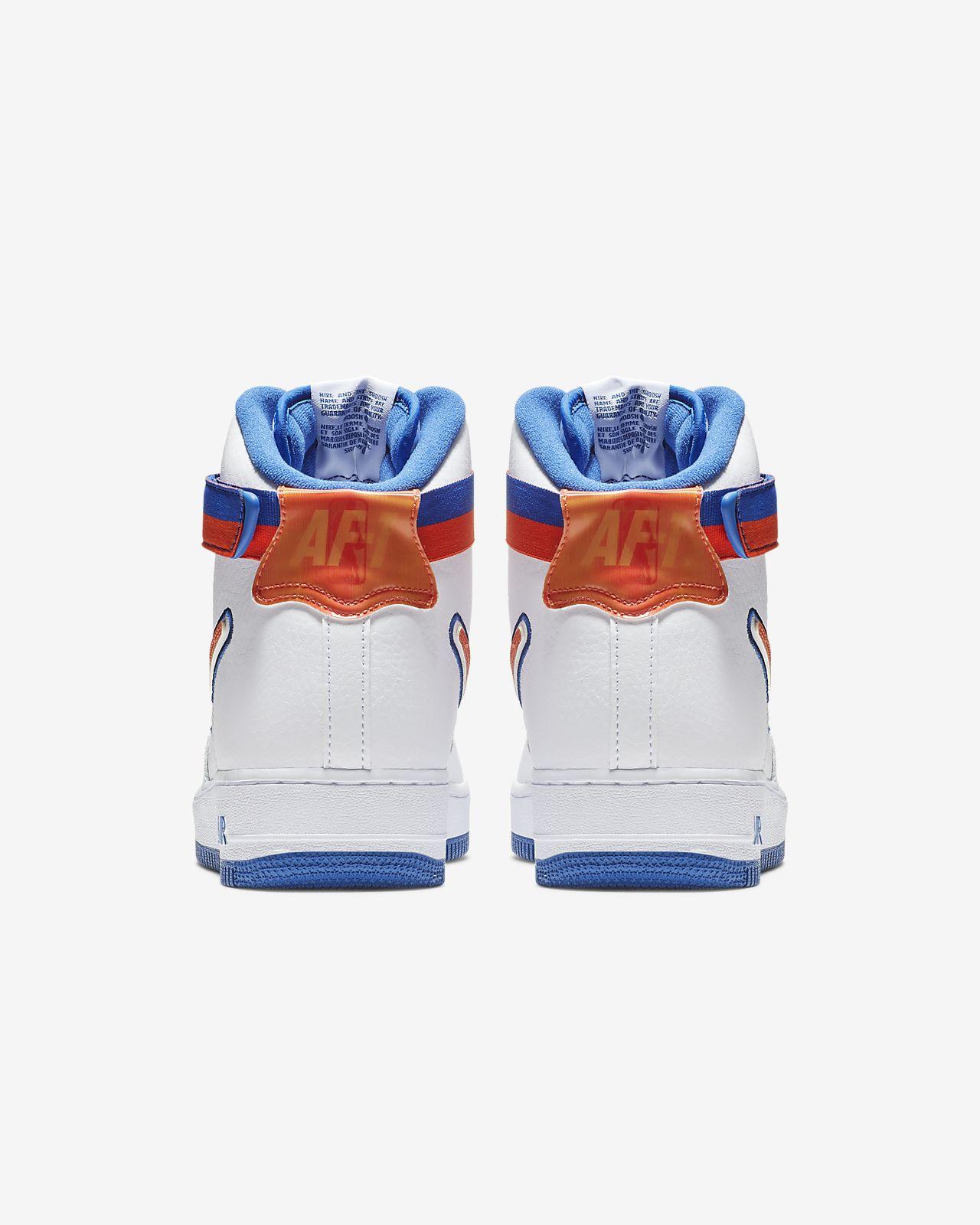 best loved 93253 15a2f ... Nike Air Force 1 NBA High (New York Knicks)-sko til mænd