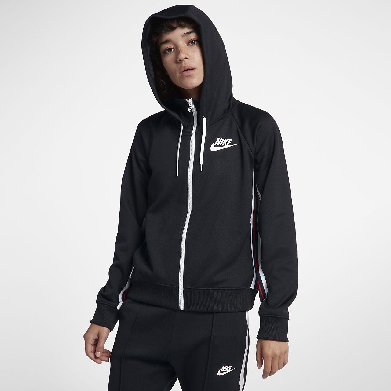 Nike Sportswear Women s Full-Zip Hoodie. Nike.com e1b47fb2a2