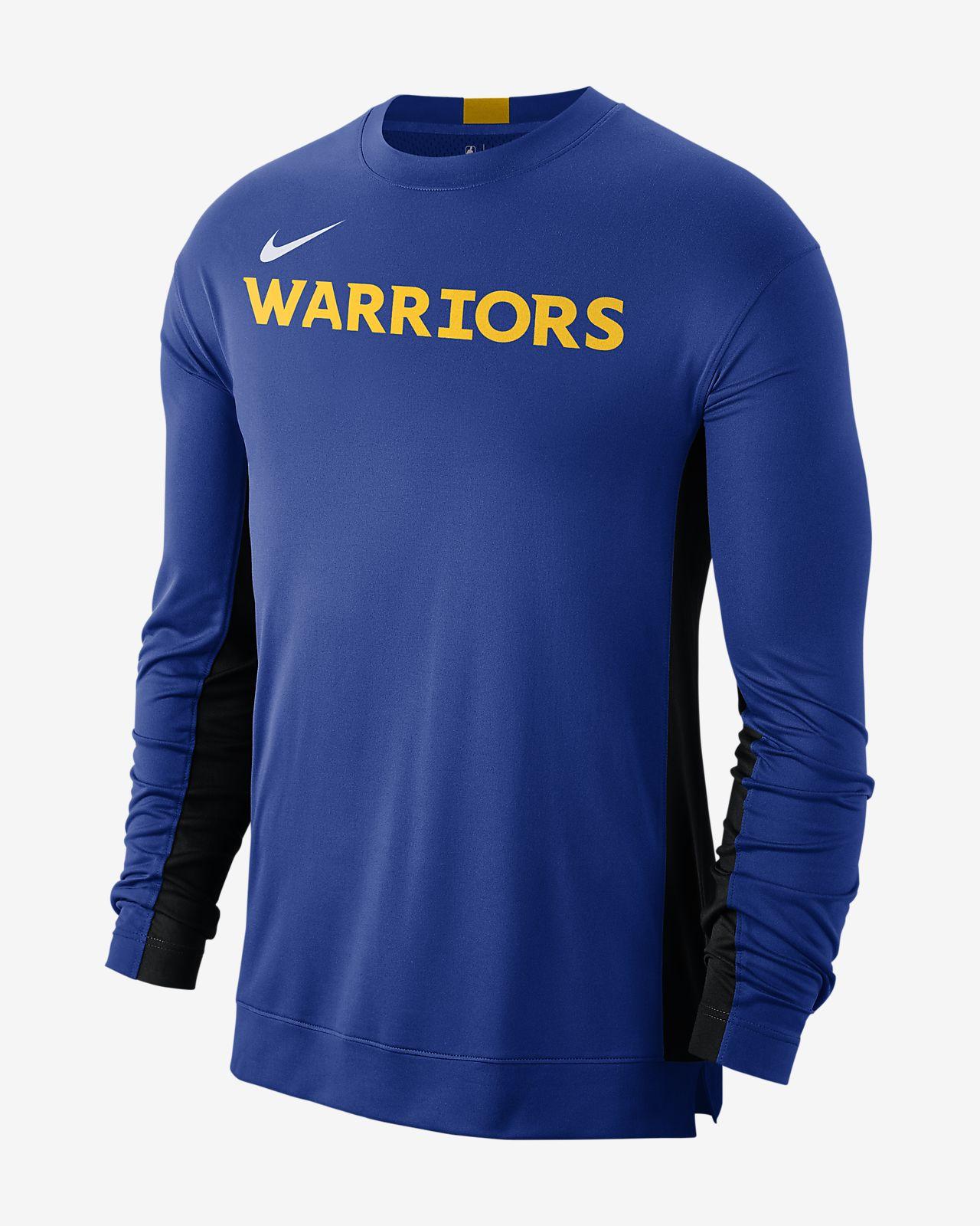 Playera de entrenamiento de la NBA para hombre Golden State Warriors Nike Dri-FIT