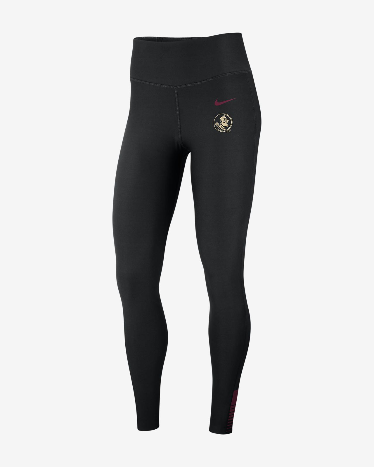 Nike College Power Sculpt (Florida State) Women's High-Rise Training Tights
