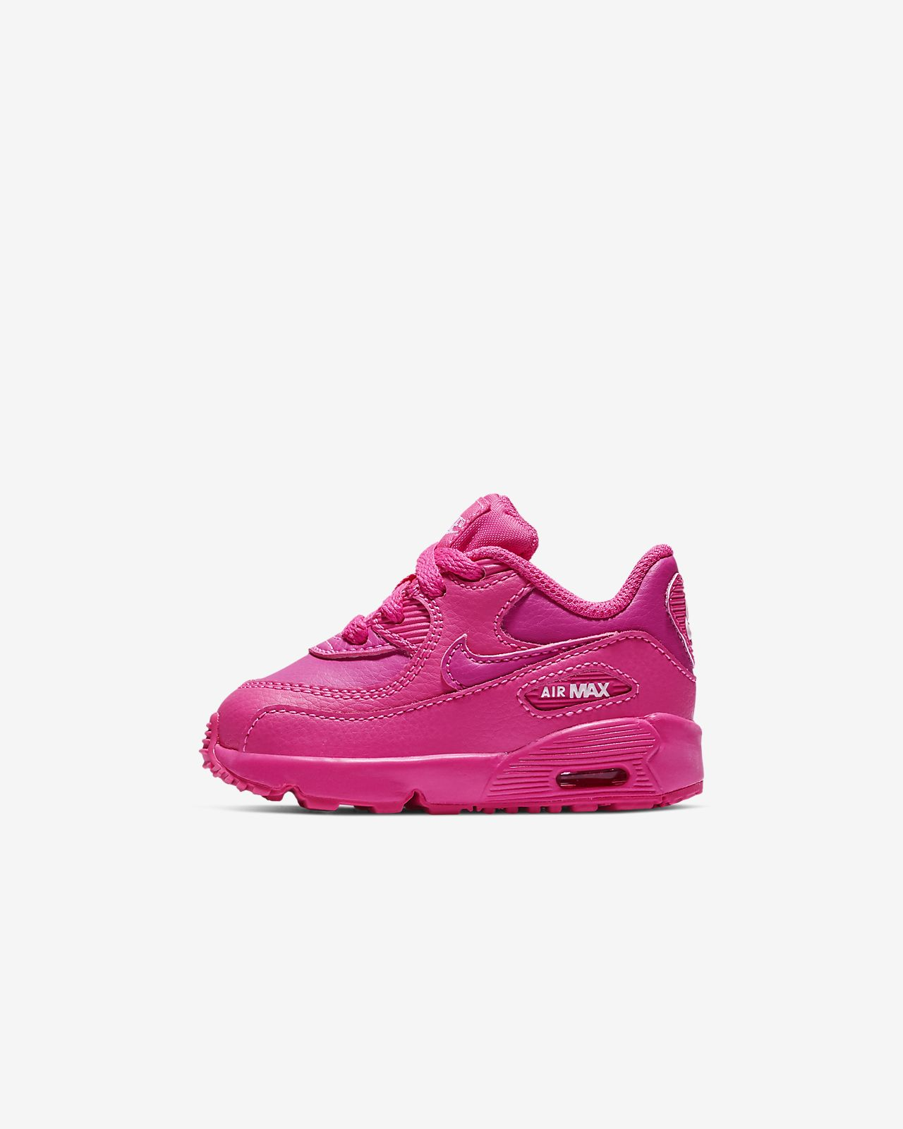 Nike Air Max 90 Leather Toddler Shoe