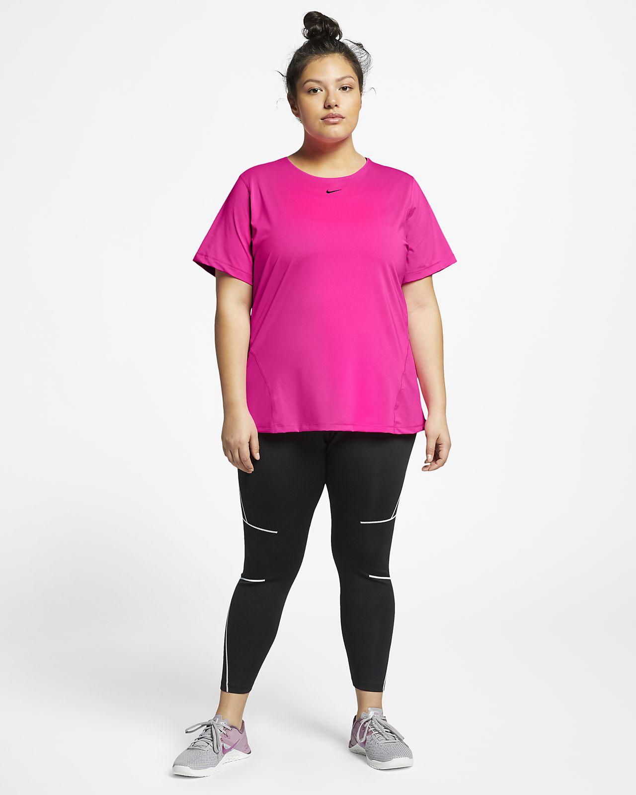 cf0897840c6e5a Nike Pro Women s Mesh Top (Plus Size). Nike.com SA