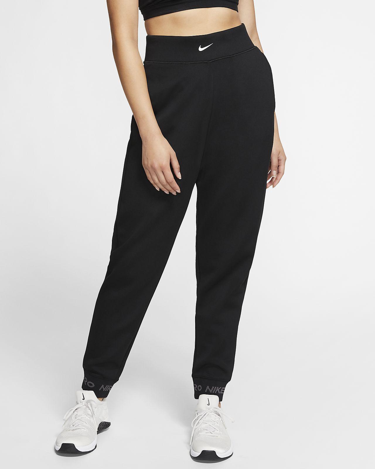 Pantalon en tissu Fleece Nike Pro pour Femme